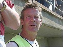 Larne manager Jim Hagan
