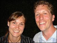 Rachel and Chris Cope