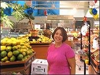 Maria Brous, portavoz de la cadena de supermercados Publix