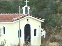A Greek church built on the proposed site for a mosque
