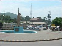 AngloGold Ashanti mine at Obuasi