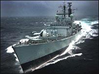 HMS Gloucester (MoD pic)