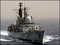 HMS York (MoD pic)