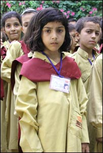 Children at Zindagi Trust school