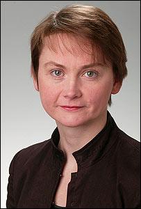 Yvette Cooper, housing minister