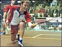 Peter Nicol in action