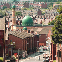 A mosque in Leeds