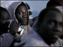 Migrants in the Canary Islands