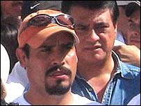 """Rafael Pulido, locutor de radio conocido como """"El Pistolero"""""""