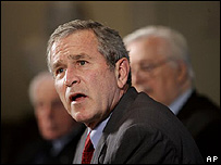 Presidente de Estados Unidos, George W. Bush