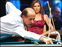 Mike Sigel plays Loree Lee Jones in the International Pool Tour World 8-Ball Championship