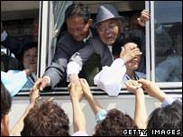 لقاء بين عائلات من شطري كوريا