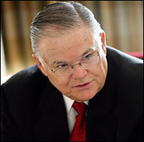 Pastor John Hagee (Foto cortesa de: Christians United For Israel)