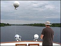 "BBC's ""balloon cam"" (BBC)"