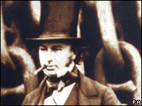 Isambard Kingdom Brunel. Picture from SS Great Britain Trust