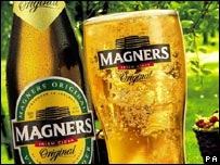 Magners Irish Cider 