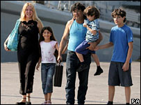 Joe and Maria Noujeim with their children