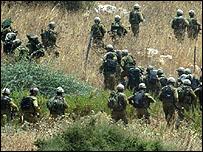 قوات إسرائيلية في جنوب لبنان
