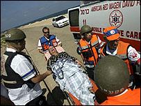 مصابة إسرائيلية