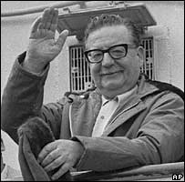 File photo from 1971 of Chilean President Salvador Allende