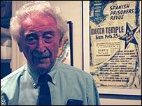 Moe Fishman, ex combatiente republicano.
