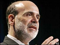 Ben Bernanke, Fed Reserve head