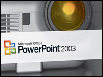 Box shot of PowerPoint 2003, Microsoft