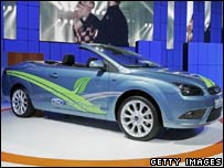 Ford bio-ethanol-powered car