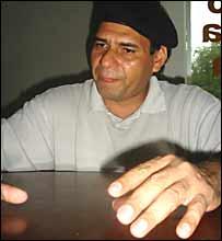 Gerardo S�nchez, l�der de la Confederaci�n Solidaridad
