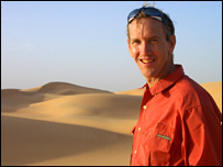 Dr Mark Boslough, Great Sand Sea (BBC)