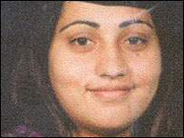 Honour killing victim Samaira Nazir