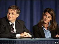 Bill Gates and Melinda Gates