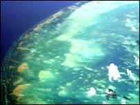 Foto satelital de la Tierra