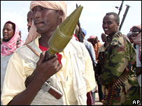 Islamist militia in Somalia