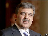 Turkish Foreign Minister Abdullah Gul. File photo