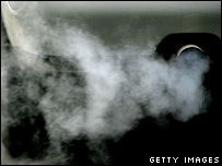 Car exhaust fumes (Getty Images)