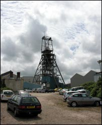 South Crofty tin mine