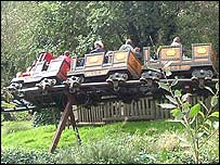 Runaway Mine Train (pic courtesy of coasterforce.com)