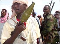 Milicias islámicas en Somalia