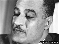 Egyptian President Gamal Abdel Nasser in Cairo, August 1956