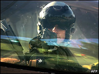 Пилот израильских ВВС
