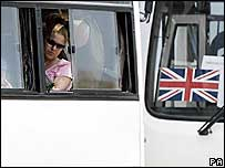 Britons leave Beirut