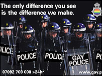 Gay Police Association advert