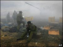 Israeli troops fire into Lebanon