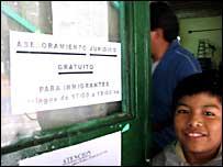 Ni�o inmigrante