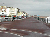 Hastings seafront