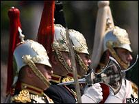 Horse Guards cavalry in June 2006