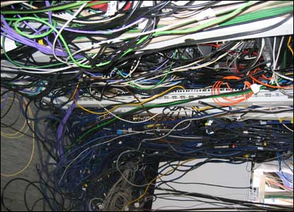A lot of wiring