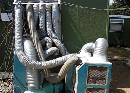 An air-conditioning unit