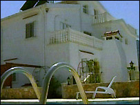 The villa in Cyprus